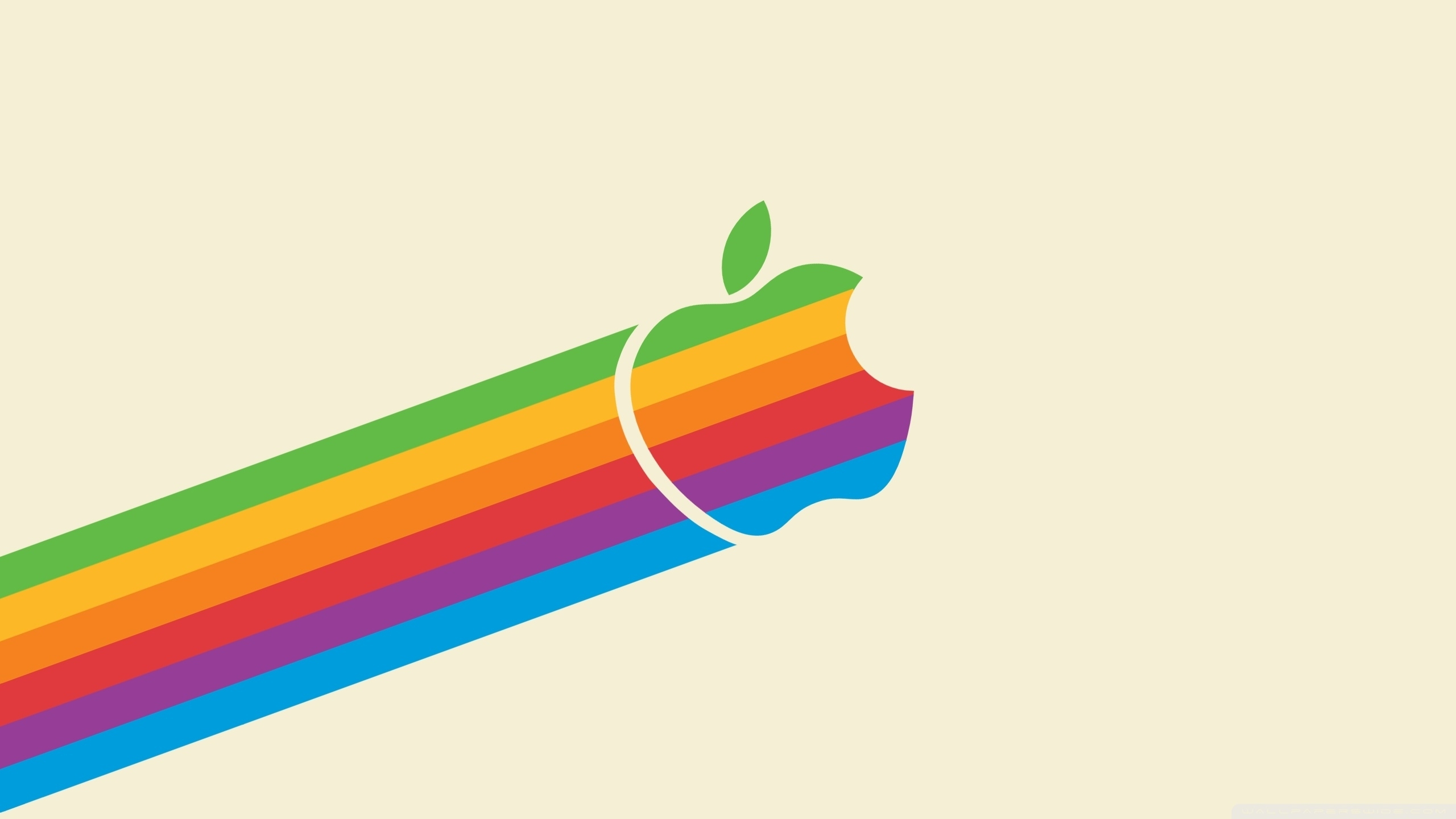 apple logo rainbow ❤ 4k hd desktop wallpaper for 4k ultra hd tv