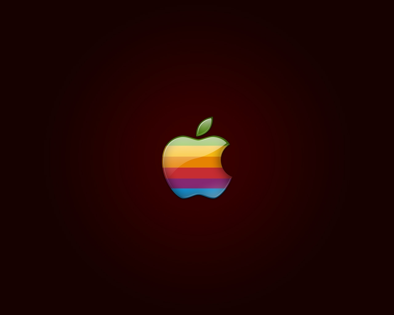 apple rainbow logo wallpaper | wallpaper wide hd