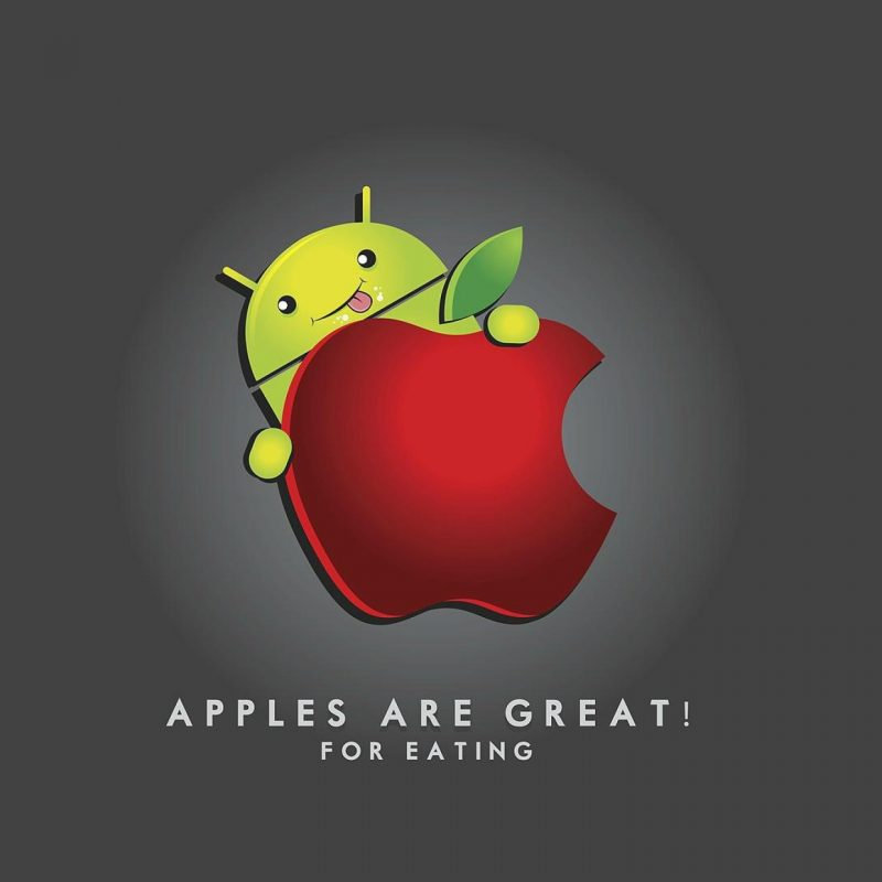 10 New Android Eating Apple Wallpaper Full Hd 1080p For Pc Background