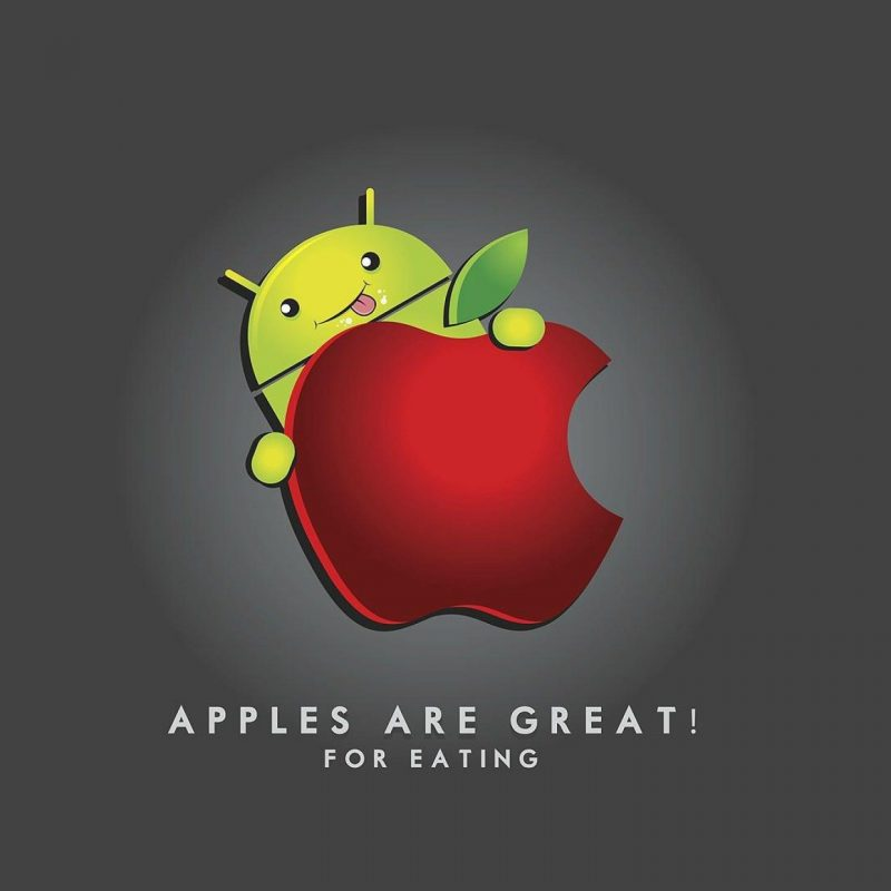 10 New Android Eats Apple Wallpaper FULL HD 1080p For PC Desktop 2021 free download apples are great for eating funny apple vs android wallpaper 800x800