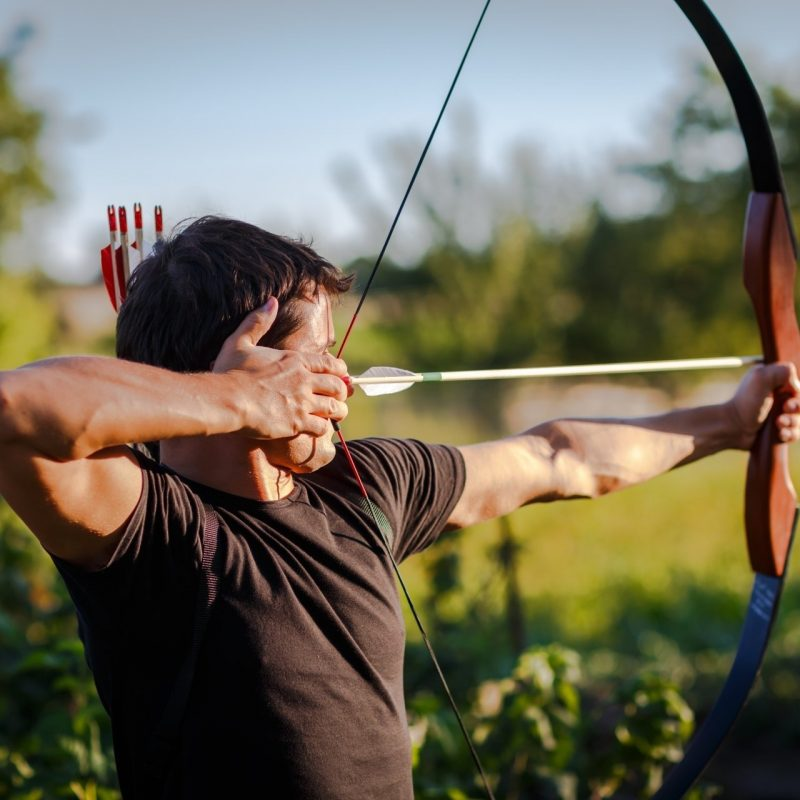 10 Latest Bow And Arrows Wallpaper FULL HD 1080p For PC Background 2020 free download archery bow arrow pointing man hd wallpaper 1 800x800