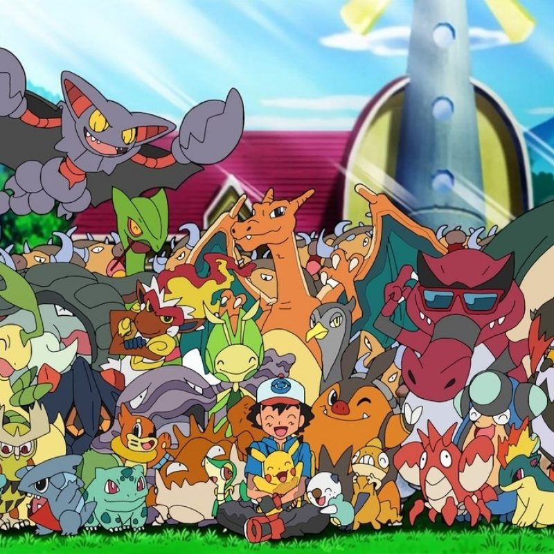 10 New Ash's Pokemon Group Photo FULL HD 1920×1080 For PC Desktop 2018 free download ash with his pokemon70jack90 on deviantart 800x800