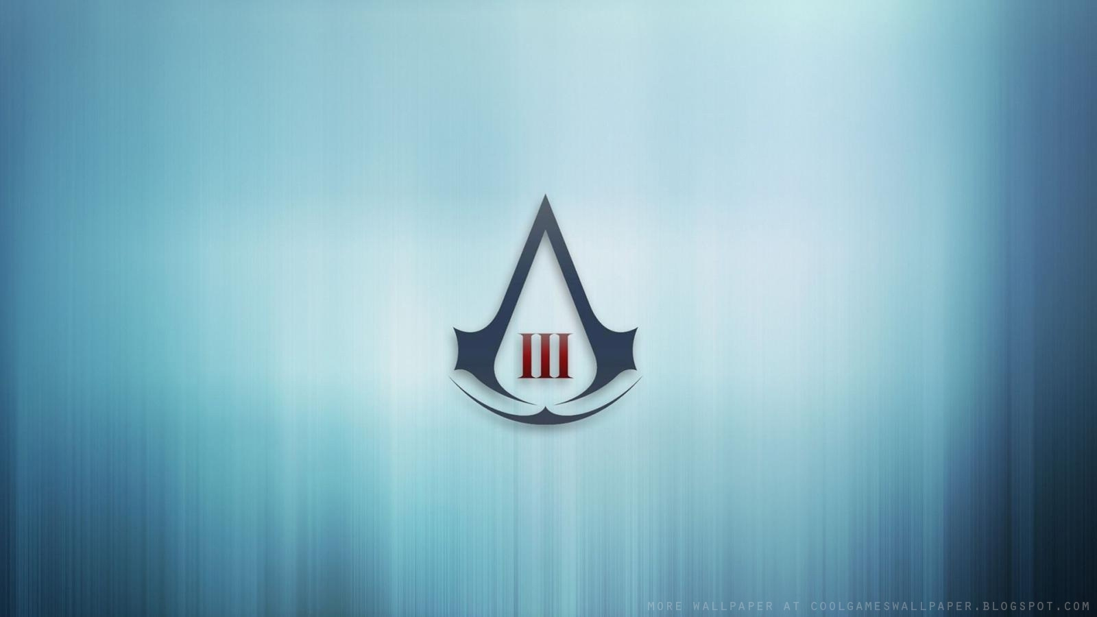 assassin's creed 3 logo wallpaper - cool games wallpaper