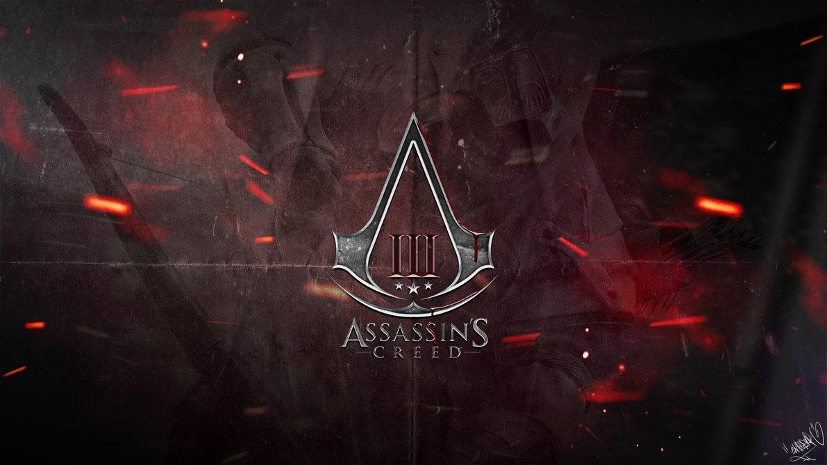 assassin's creed 3 - logo wallpaperemperaa on deviantart
