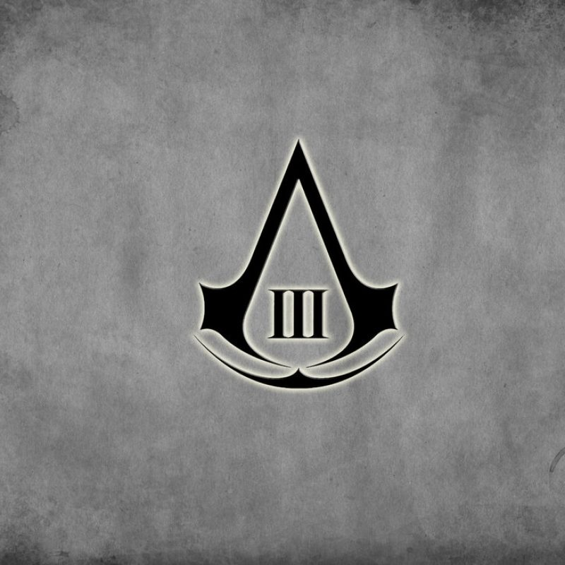 10 Top Assassin's Creed Logo Wallpaper Hd FULL HD 1080p For PC Background 2018 free download assassins creed 3 wallpaperspee505 on deviantart 800x800