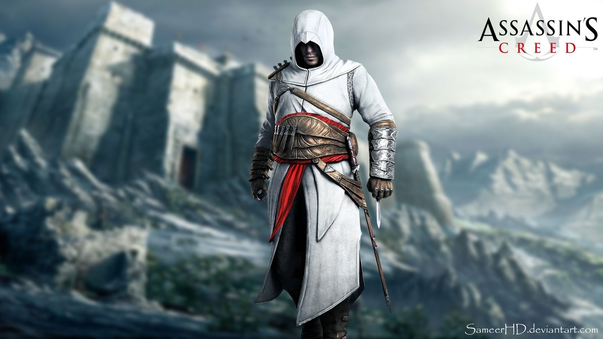 assassin's creed altair ibn-la ahad wallpapersameerhd on deviantart