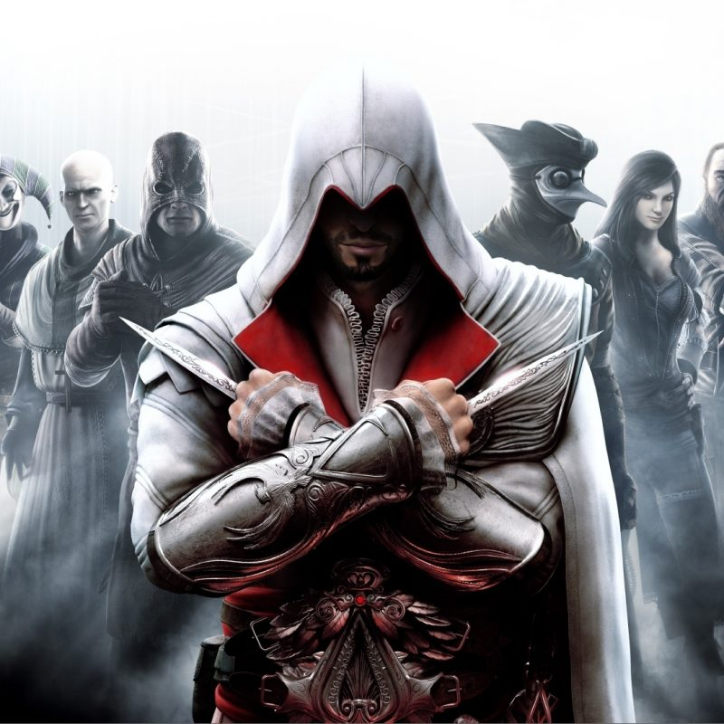 10 Top Assassins Creed Wallpaper Ezio FULL HD 1080p For PC Background 2018 free download assassins creed brotherhood e29da4 4k hd desktop wallpaper for 4k ultra 2 800x800