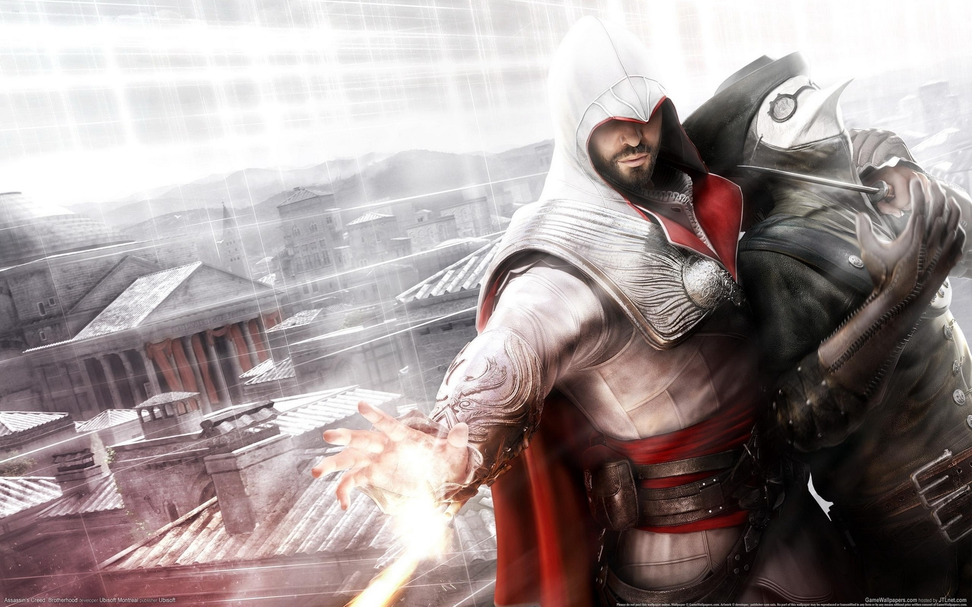 assassin's creed: brotherhood full hd wallpaper and background image