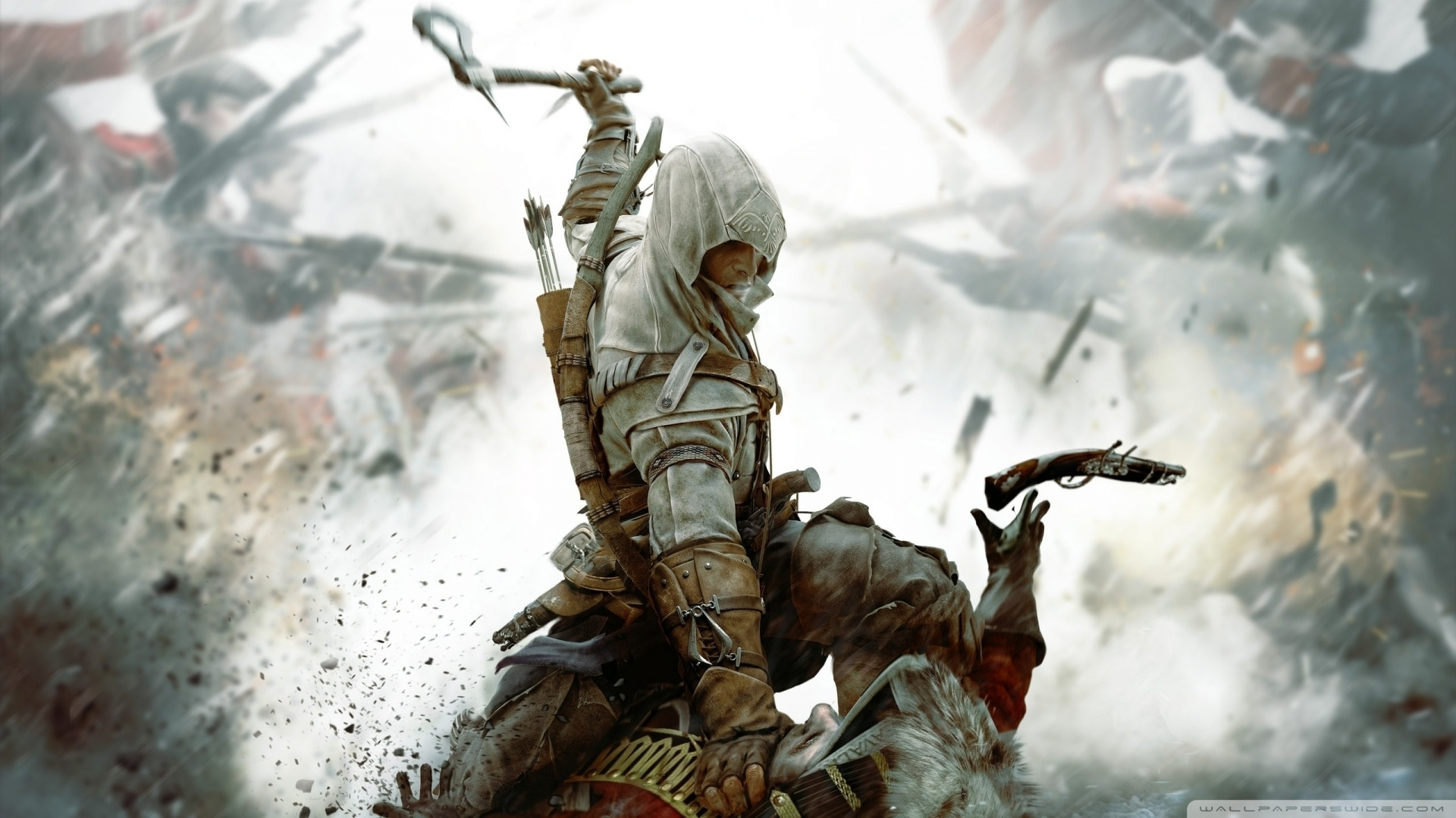 assassins creed iii 3-wallpaper-1920x1080 - 10 000 fonds d'écran hd