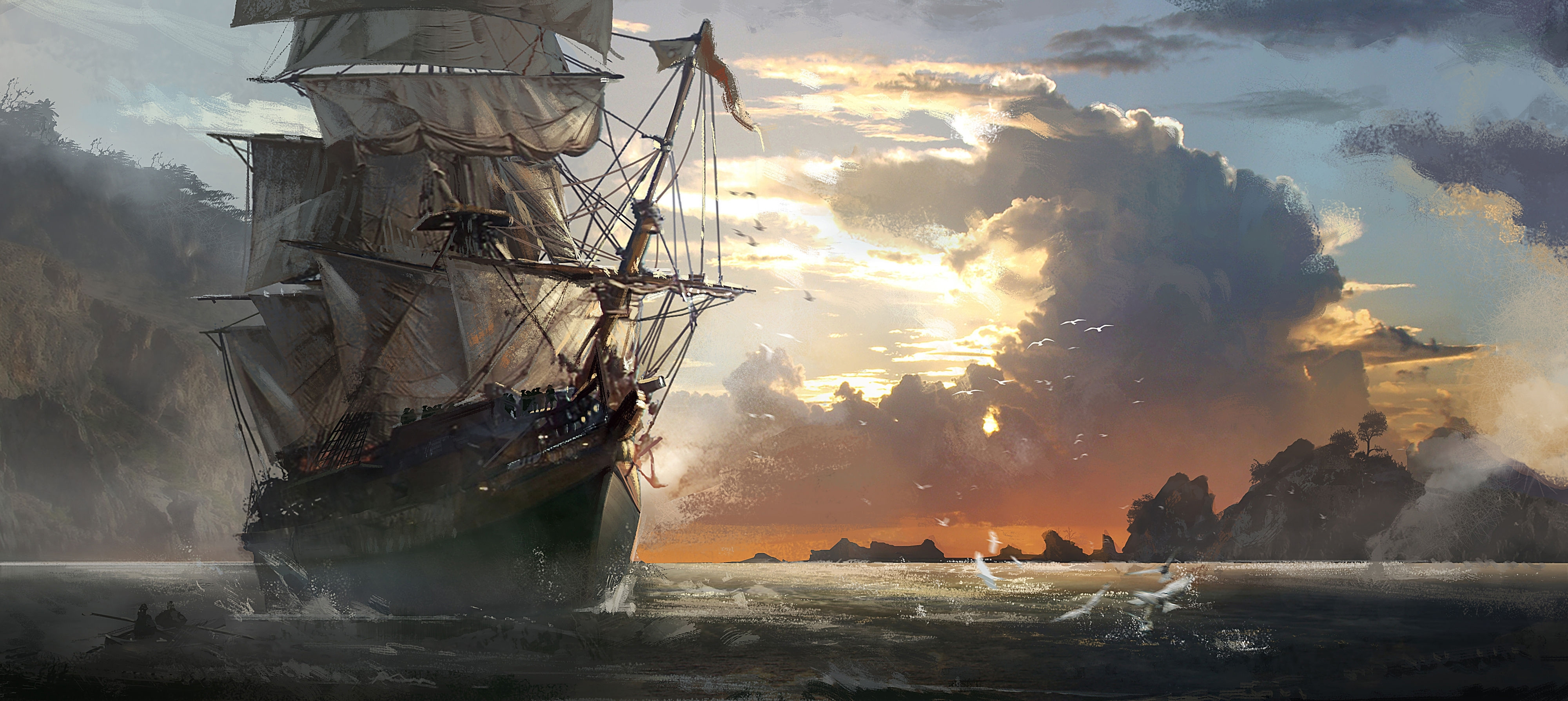 assassin's creed iv black flag full hd fond d'écran and arrière-plan
