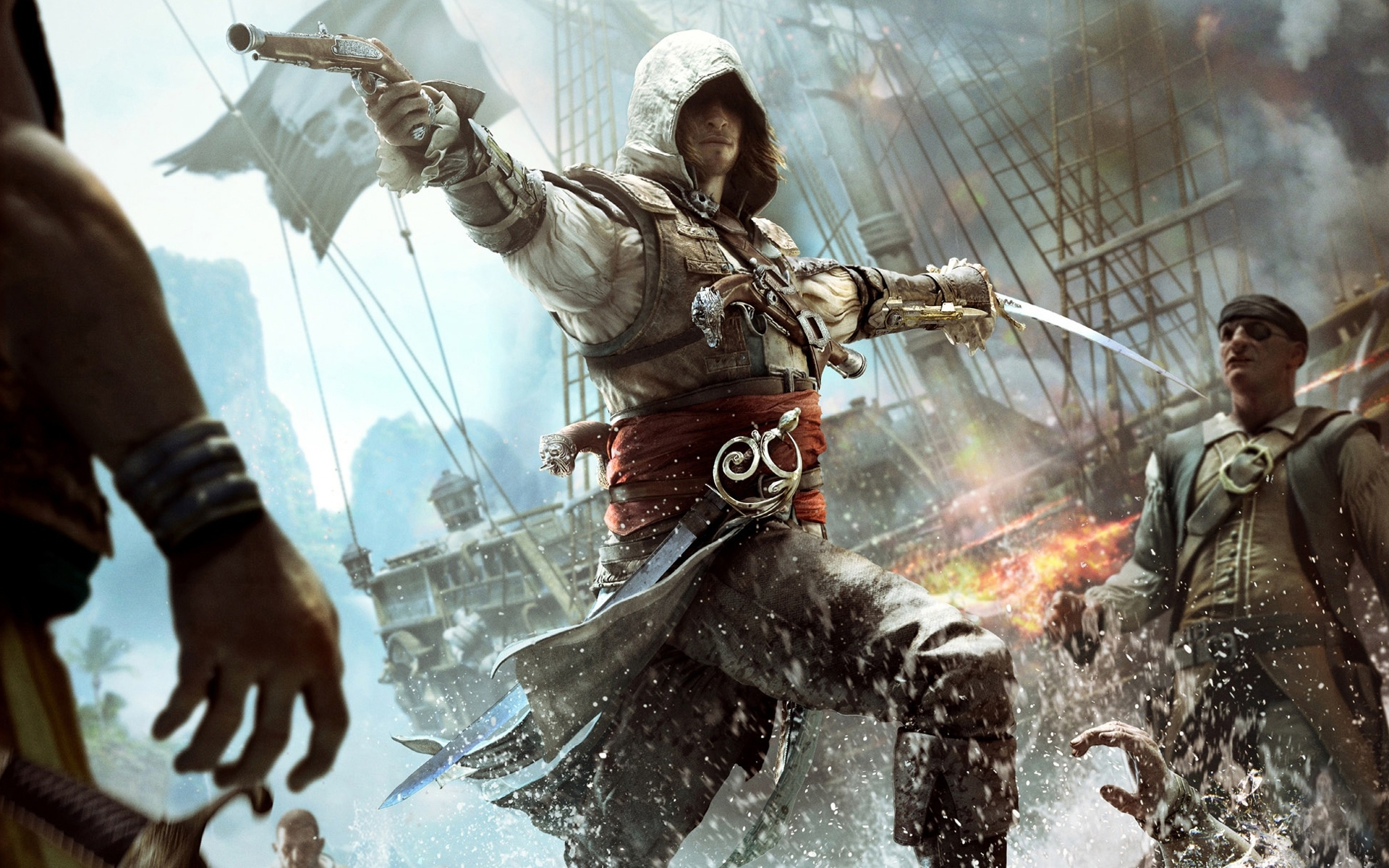 10 Top Ac Black Flag Wallpapers FULL HD 1080p For PC Background