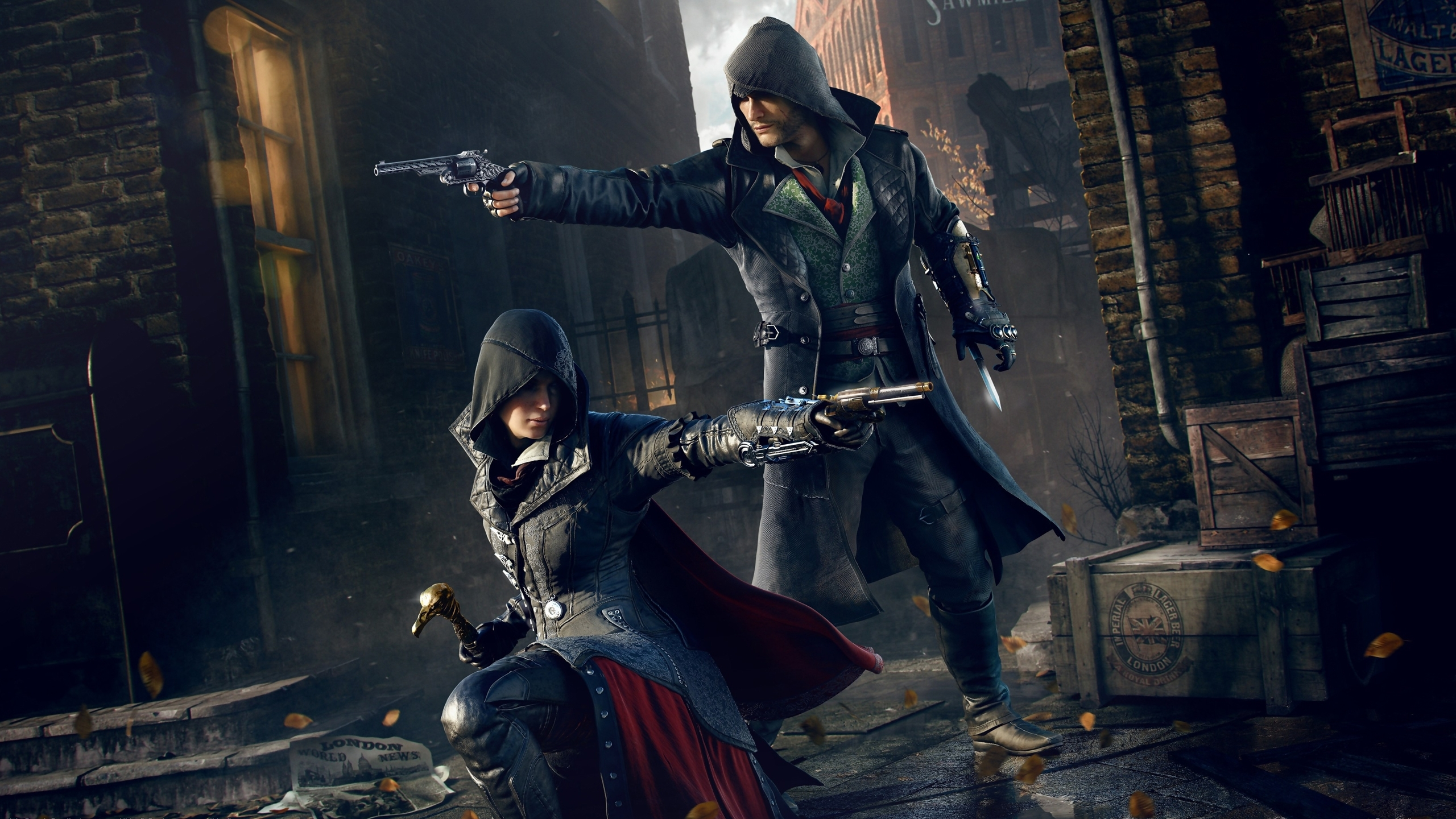 assassin's creed: syndicate full hd wallpaper and background image