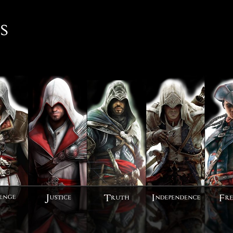 10 Top Awesome Assassins Creed Wallpapers FULL HD 1080p For PC Background 2018 free download assassins creed wallpapers all assassins group 85 800x800