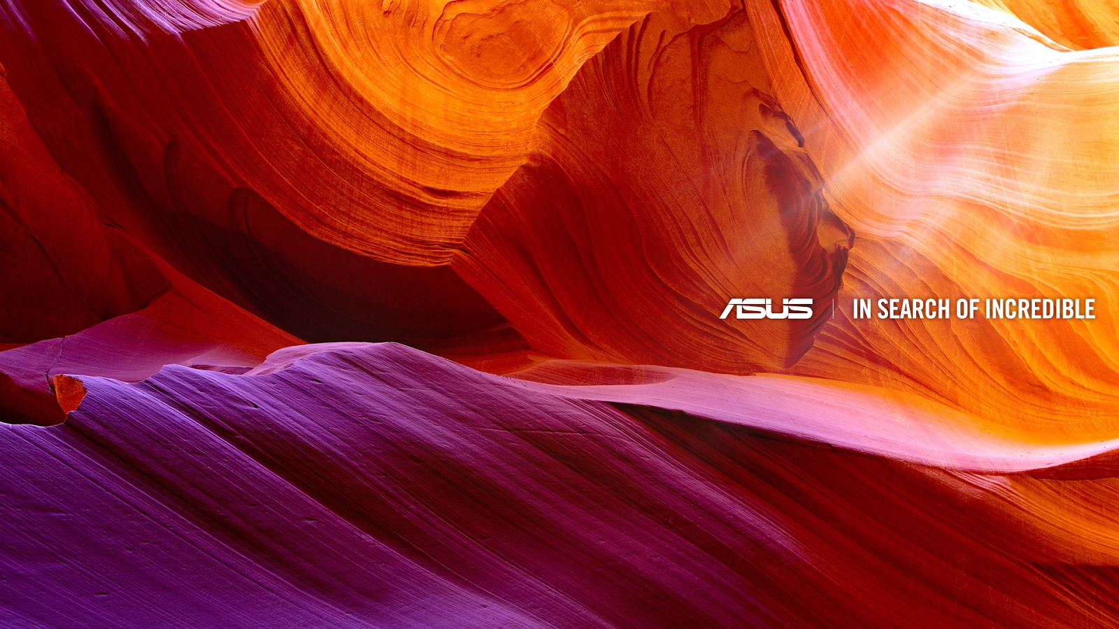 asus in search of incridible wallpaper