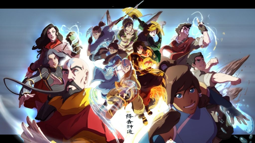 10 Top Avatar The Last Airbender Wallpaper Hd FULL HD 1080p For PC Background 2021 free download avatar the last airbender legend of korra wallpaper 80759 1024x576