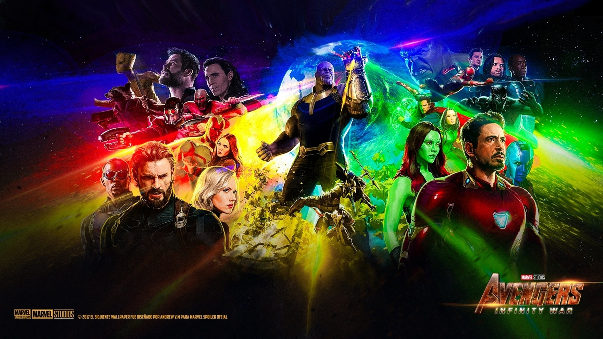avengers infinity war high definition wallpaper 27137 - baltana