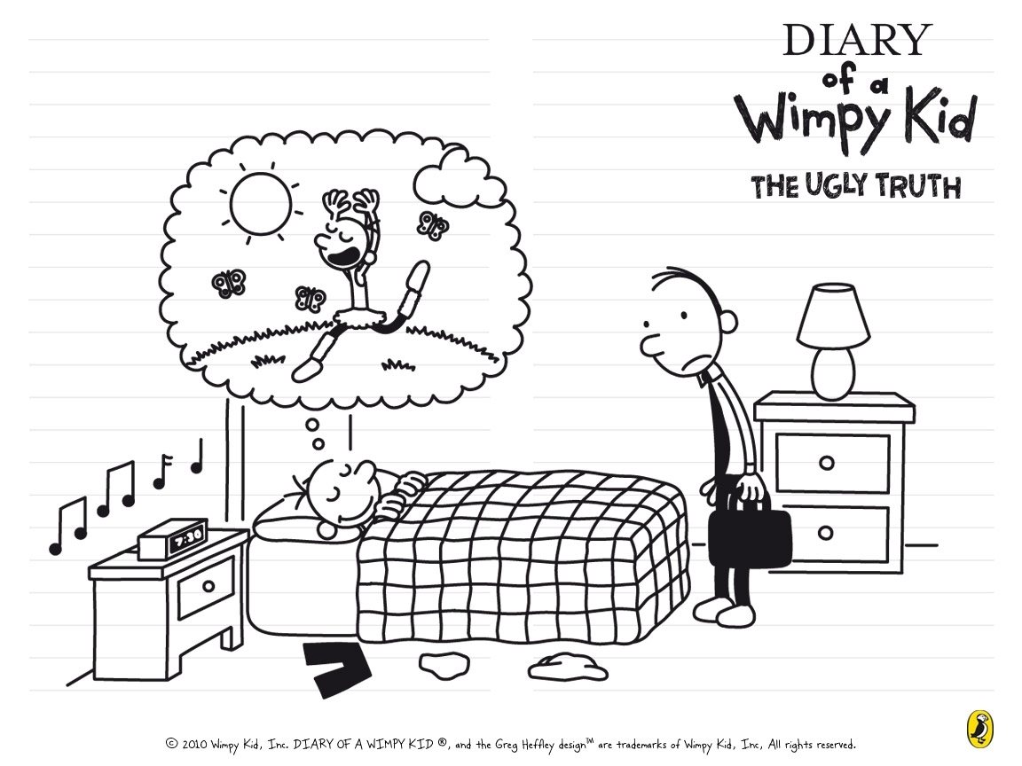 awesome! free 'the ugly truth' wallpapers | wimpy kid club