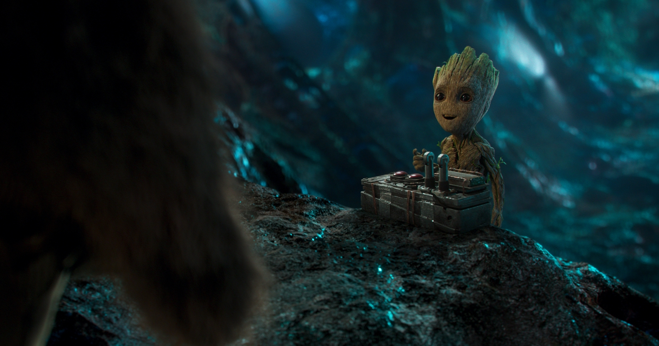 baby groot full hd wallpaper and background image | 2158x1136 | id