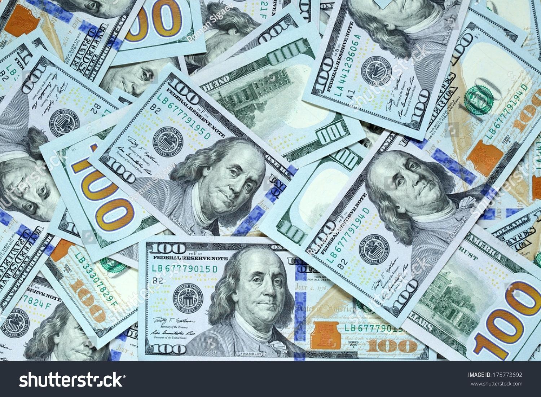 background new hundred dollar bills stock photo 175773692