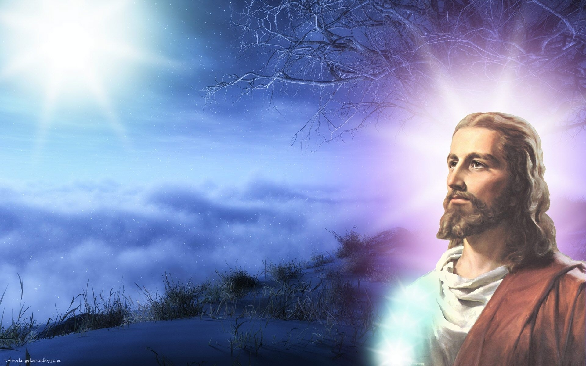 background of jesus christ - wallpaper dekstop
