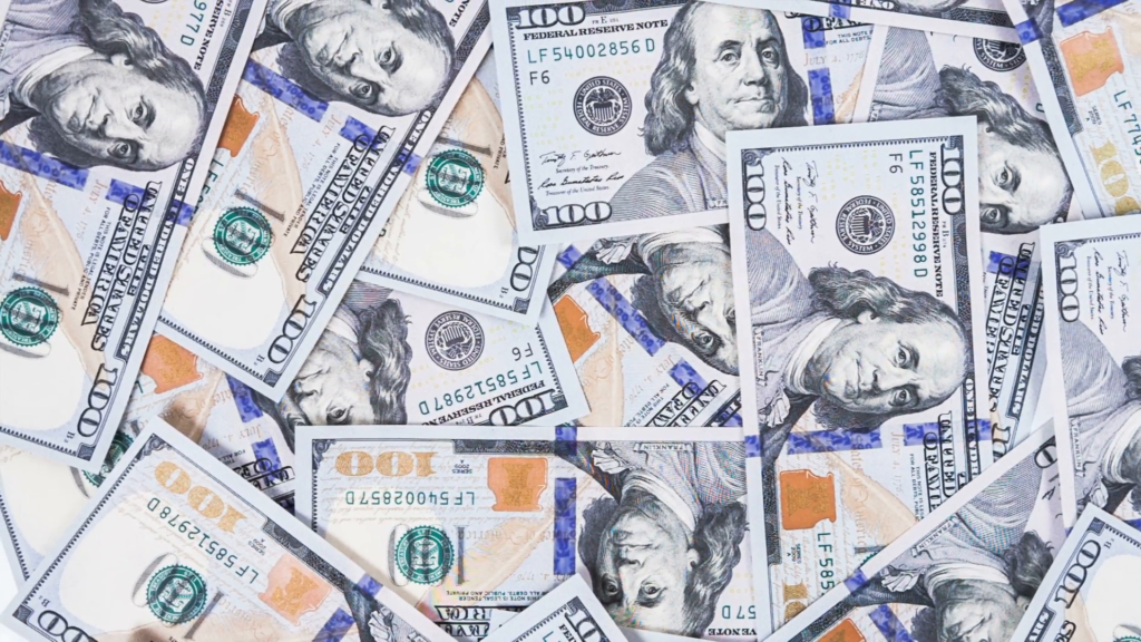 10 Top 100 Dollar Bills Background FULL HD 1920×1080 For PC Desktop 2020 free download background with money american hundred dollar bills rotate raw 1024x576