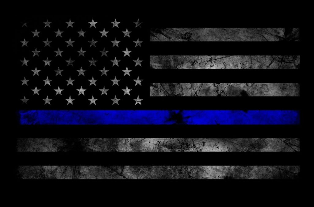 10 Best Thin Blue Line Flag Desktop Wallpaper FULL HD 1080p For PC Desktop 2020 free download bao tactical thin blue line subdued american flag sticker body 1024x675