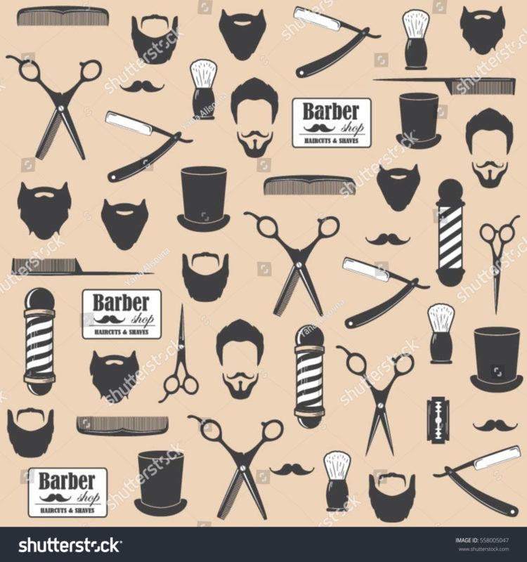 10 Most Popular Barber Shop Wallpaper FULL HD 1920×1080 For PC Desktop 2018 free download barber shop vintage seamless pattern decorative stock vector 750x800