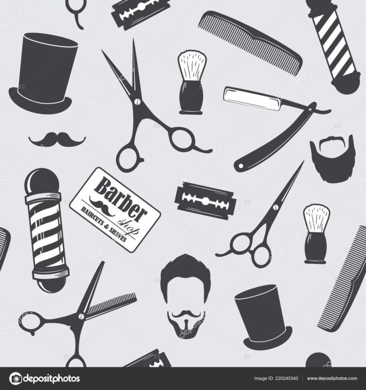 10 Most Popular Barber Shop Wallpaper FULL HD 1920×1080 For PC Desktop 2018 free download barber shop vintage seamless pattern decorative wallpaper printing 752x800