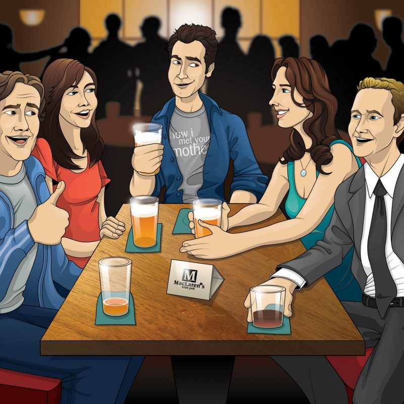 10 Top How I Met Your Mother Wallpaper FULL HD 1080p For PC Background 2018 free download barney ted images how i met your mother hd wallpaper and 800x800