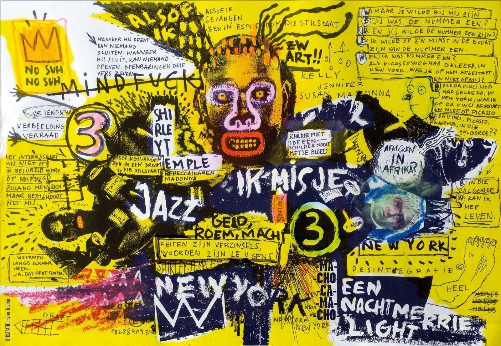 10 Most Popular Jean Michel Basquiat Wallpaper FULL HD 1080p For PC Background