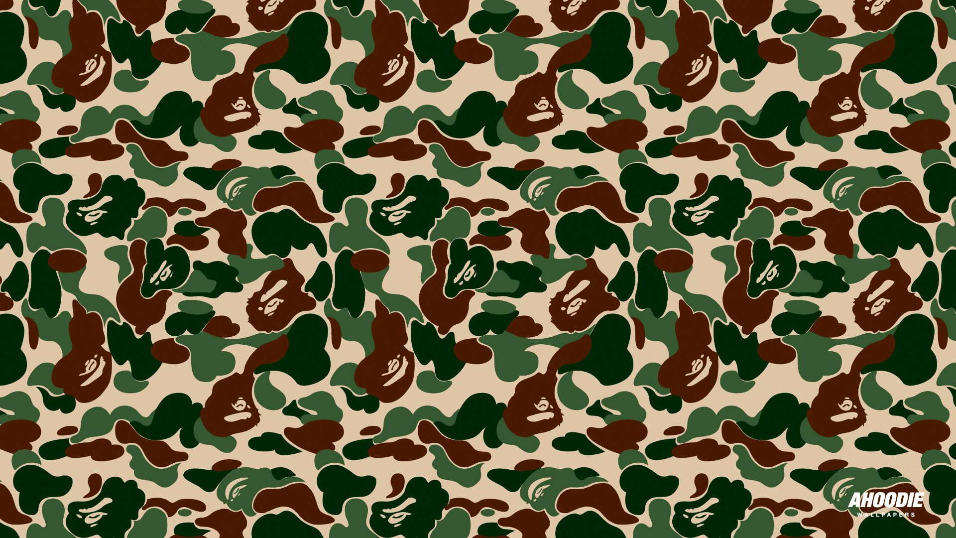 bathing ape camo wallpapers - wallpaper cave