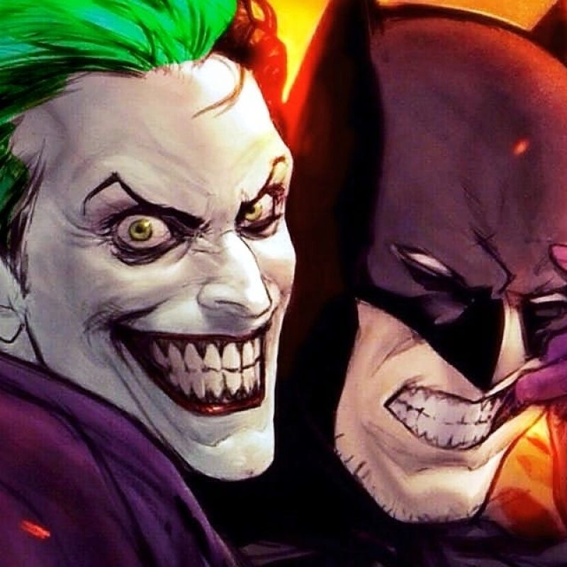 10 Latest Batman And Joker Images FULL HD 1920×1080 For PC Background 2018 free download batman joker become partners to save dcs universe release mama 800x800