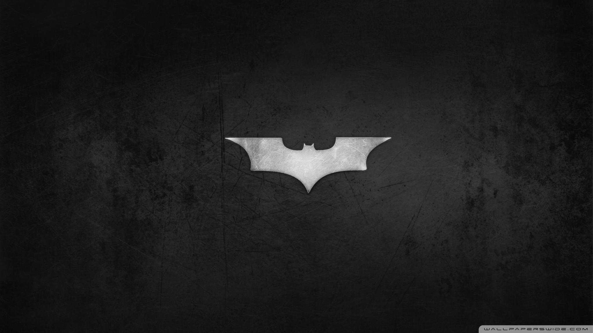 batman logo ❤ 4k hd desktop wallpaper for 4k ultra hd tv • dual