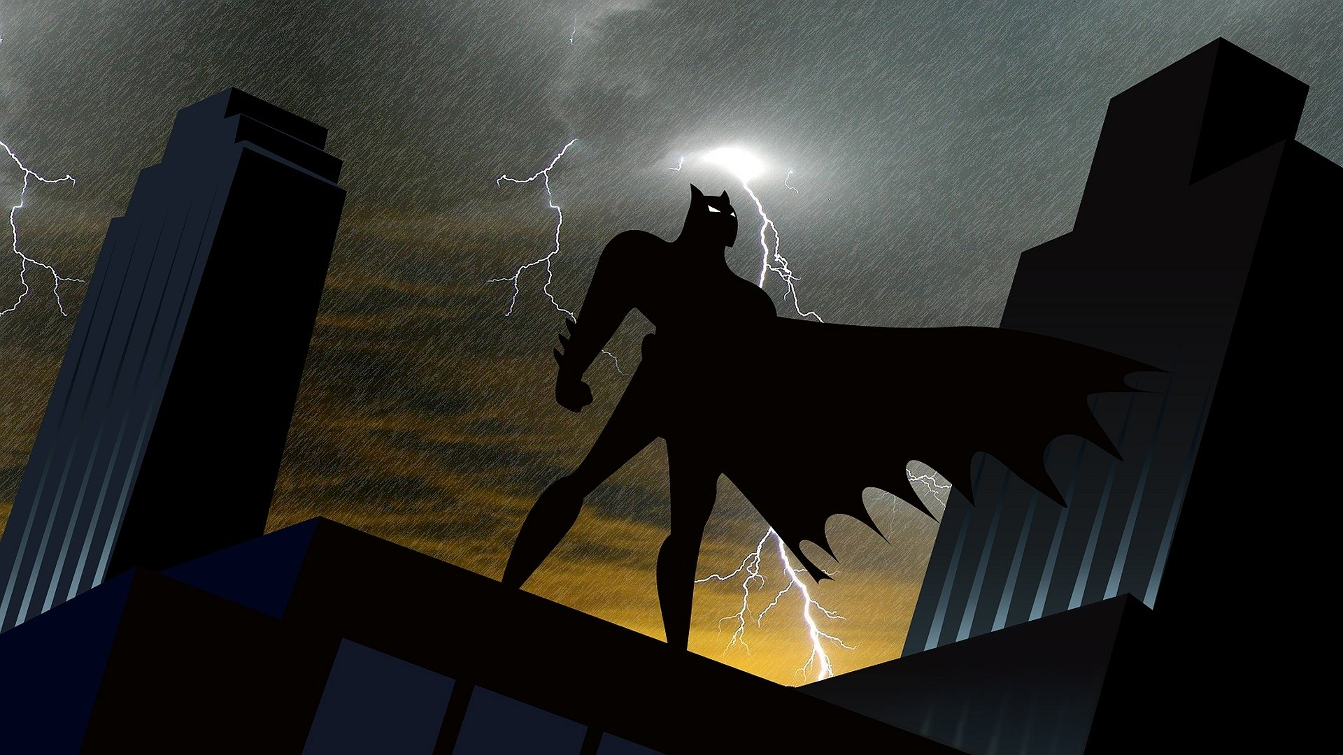 batman: the animated series hd wallpaper | hintergrund | 1920x1080