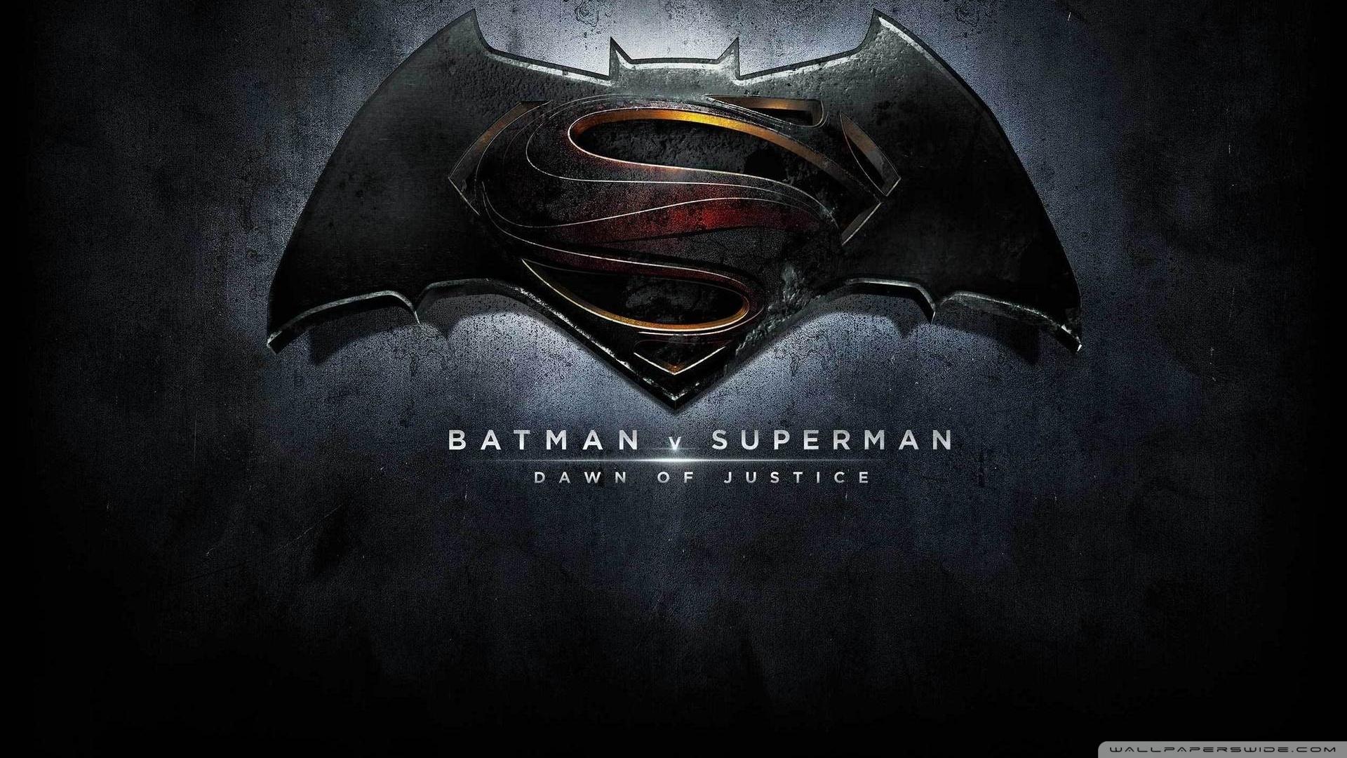 batman vs superman logo ❤ 4k hd desktop wallpaper for 4k ultra hd