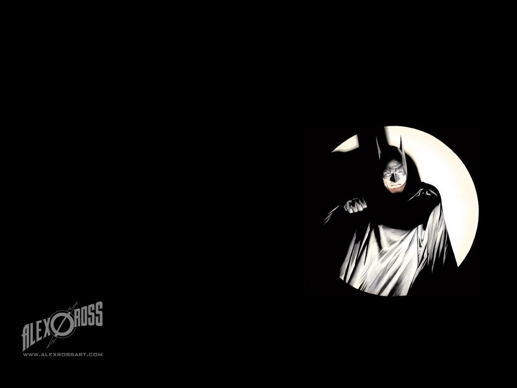 batman wallpaper - artalex ross | favorite comic book artists