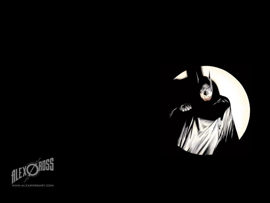 batman wallpaper - artalex ross | favorite comic book artists