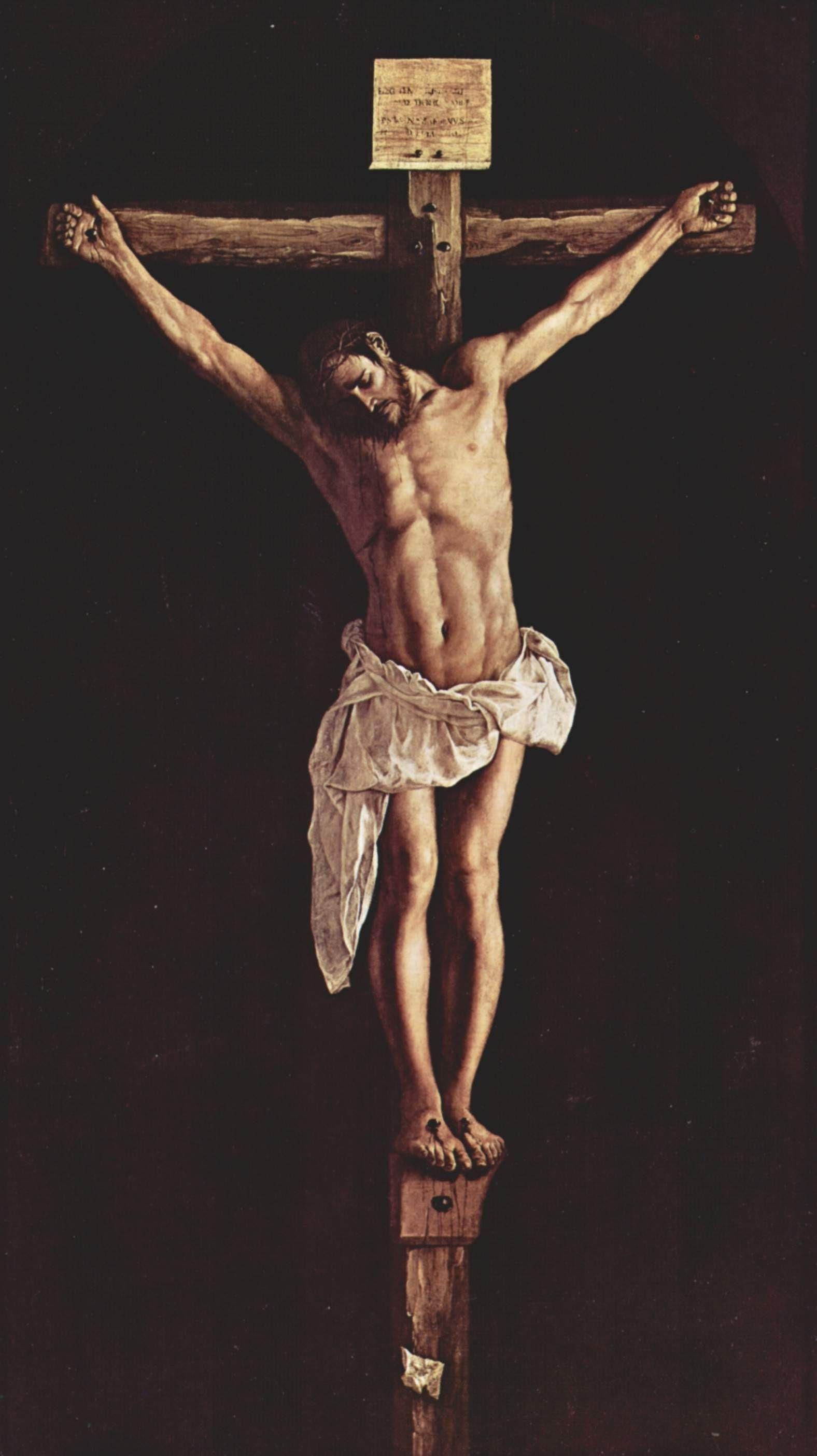 b>christ</b> <b>on the cross</b> - francisco de zurbaran - wikiart