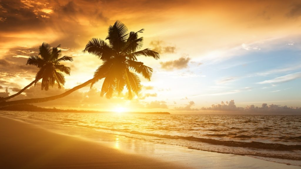 10 New Beach Sunrise Wallpaper Desktop FULL HD 1920×1080 For PC Background 2018 free download beach sunrise wallpaper free hd wallpapers 1024x576
