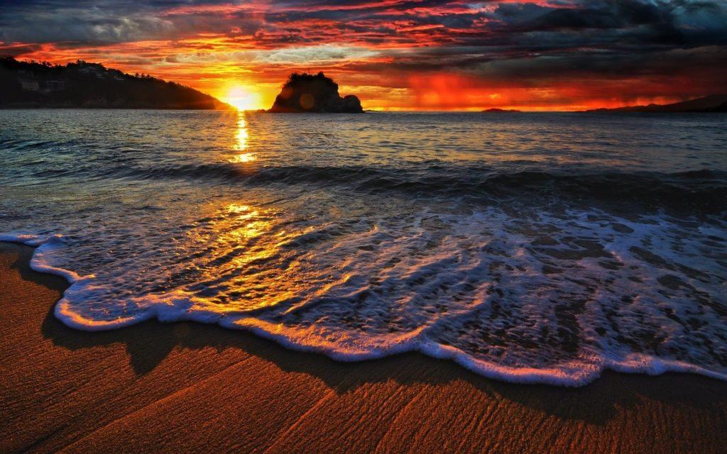 10 Best Beach Sunset Desktop Wallpaper FULL HD 1080p For PC Background 2018 free download beach sunset desktop wallpaper 1024x640