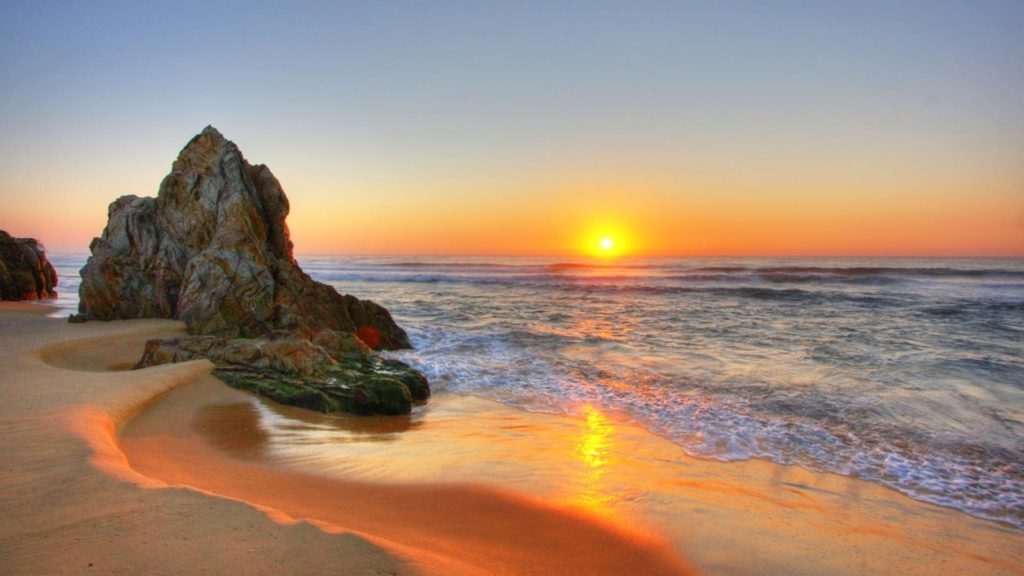 10 Latest Beautiful Beach Sunset Backgrounds FULL HD 1080p For PC Desktop 2020 free download beach sunset wallpaper 28813 1920x1080 px hdwallsource 1024x576
