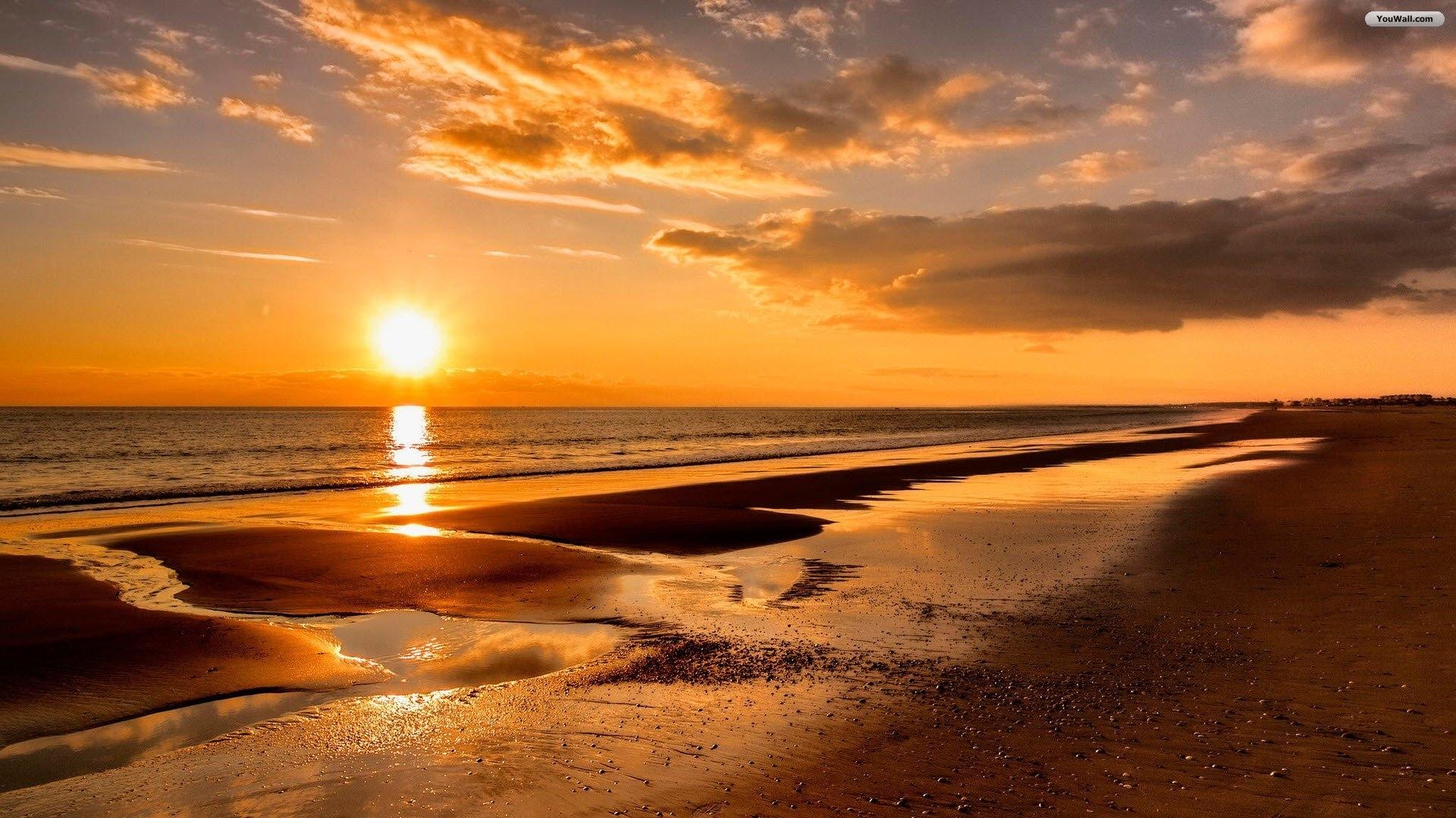 Title Beach Sunset Wallpaper Desktop Hd Of Smartphone Magnificent Dimension 1920 X 1080 File Type JPG JPEG