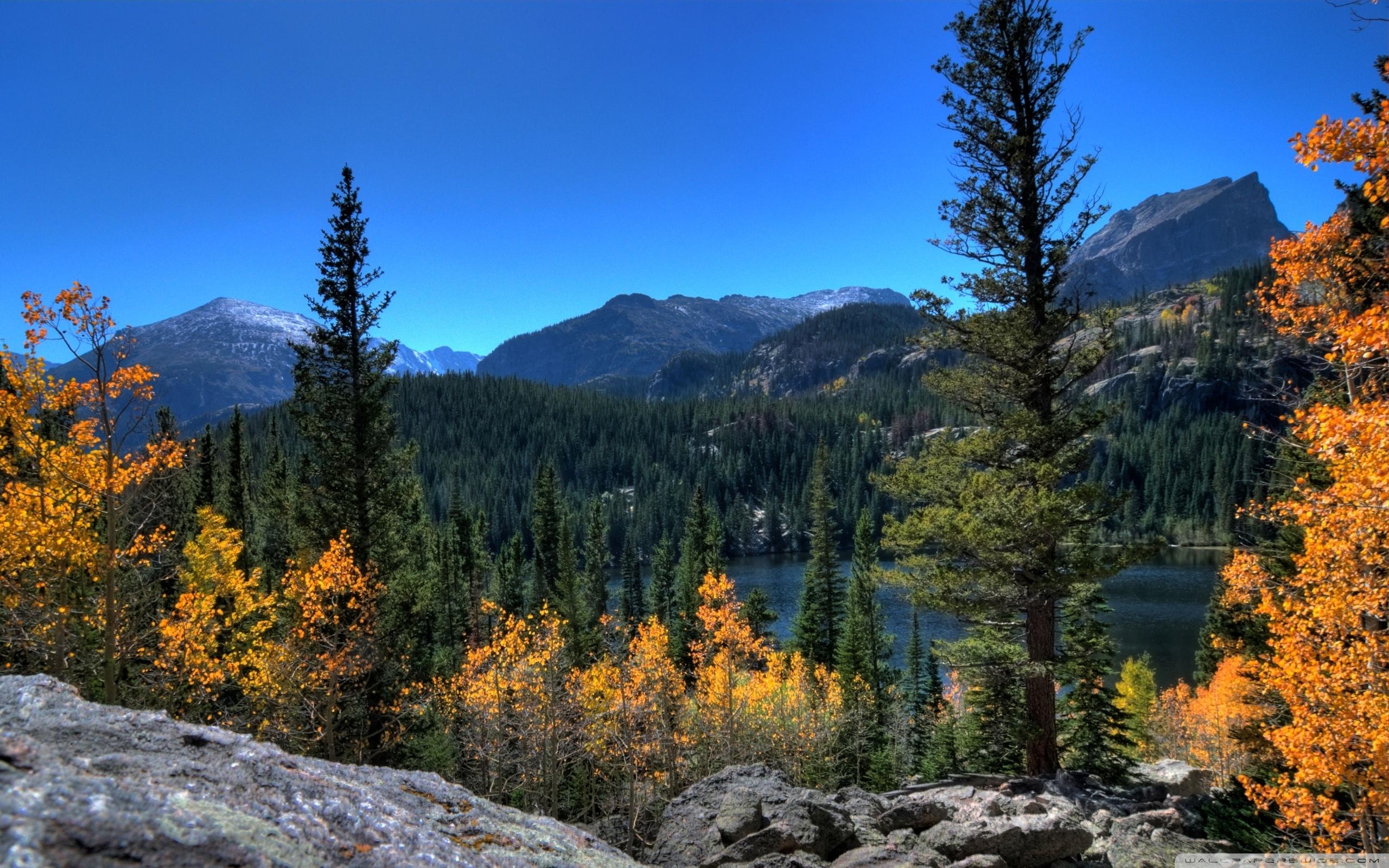 bear lake, rocky mountain national park, colorado ❤ 4k hd desktop