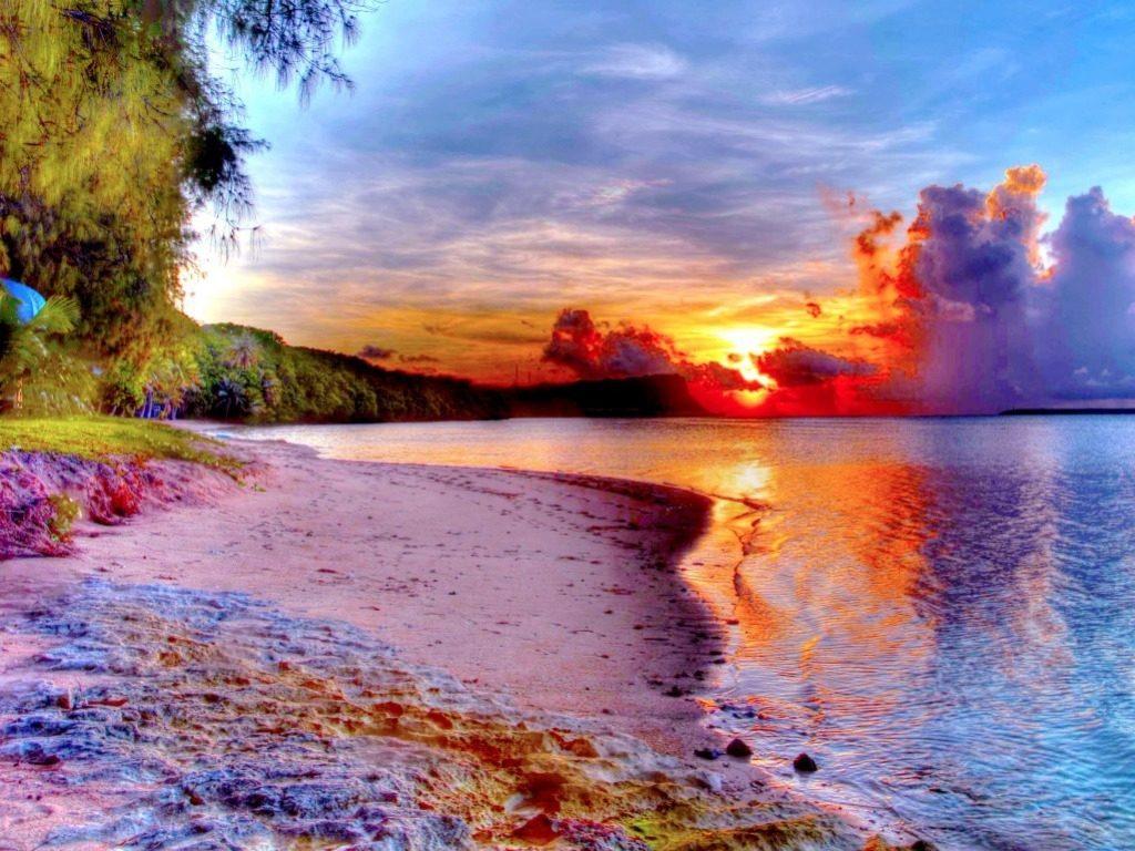 10 Latest Beautiful Beach Sunset Backgrounds FULL HD 1080p For PC Desktop 2018 free download beautiful beach sunset landscape pinterest wallpaper hd 1024x768