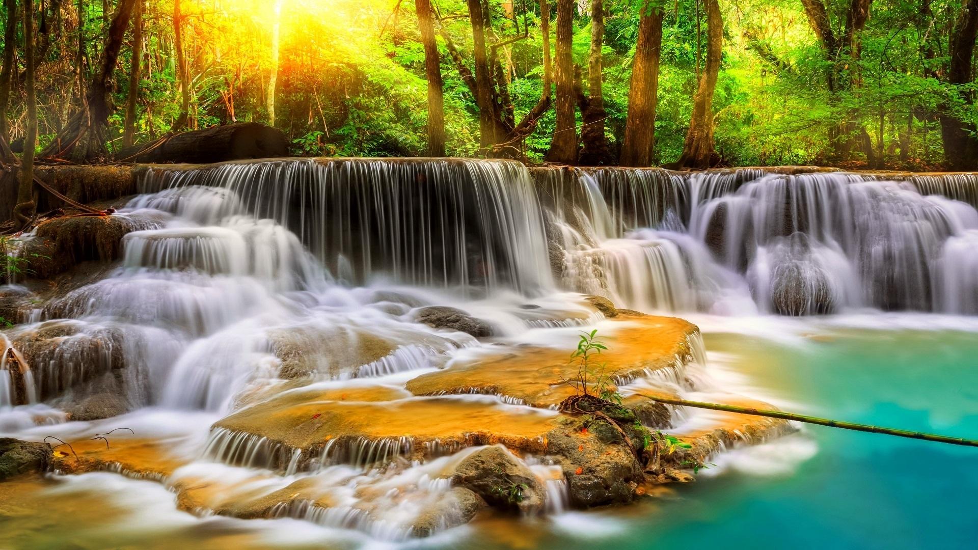 beautiful-waterfalls-hd-wallpaper-free-for-desktop - hd wallpaper