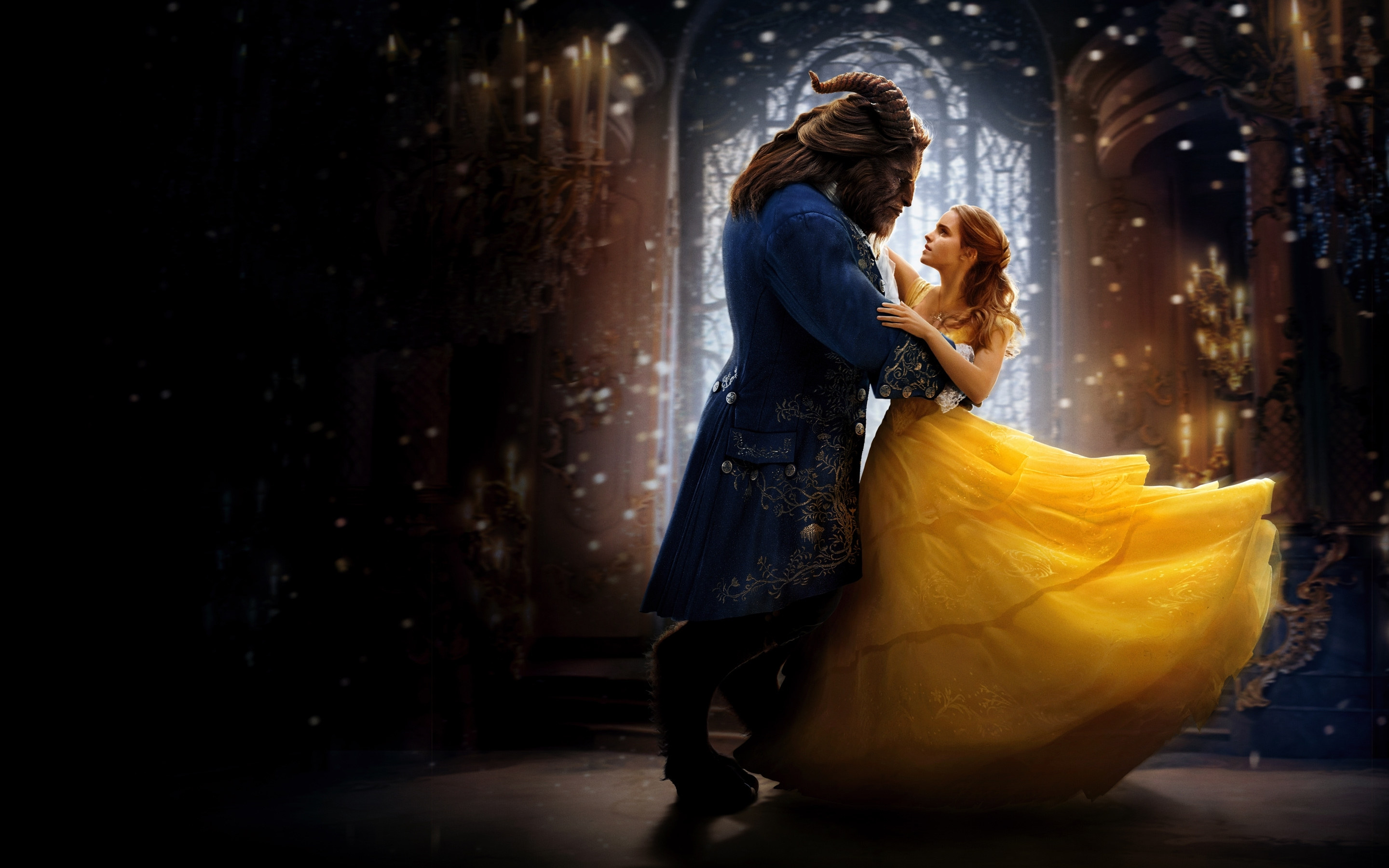 beauty and the beast 2017 4k 8k wallpapers | hd wallpapers | id #19692