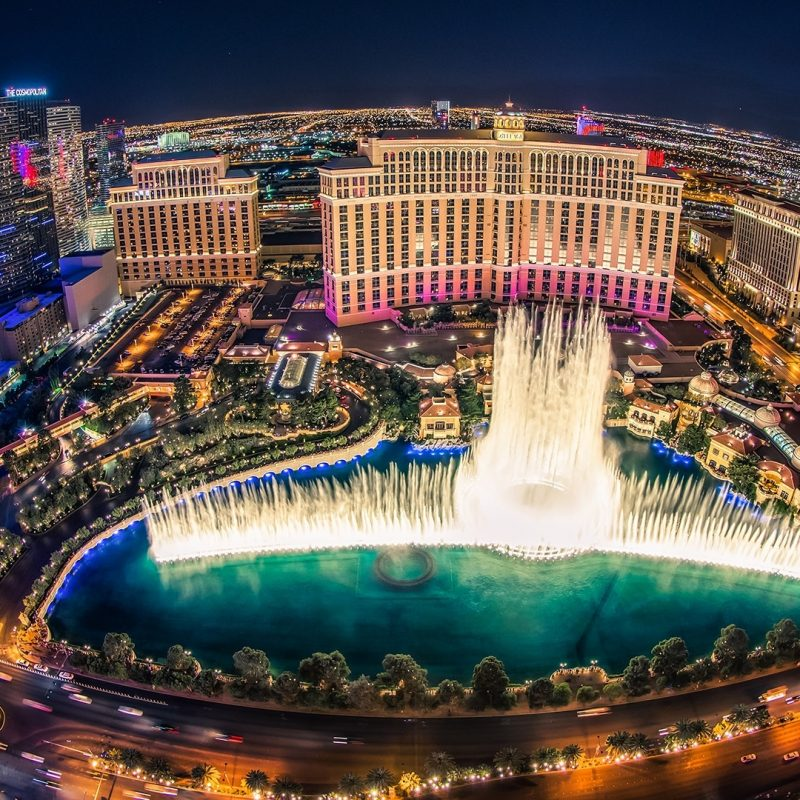 10 Most Popular Las Vegas Hd Wallpaper @ Night FULL HD 1920×1080 For PC Background 2018 free download bellagio hotel las vegas fountain show top view wallpaper 800x800