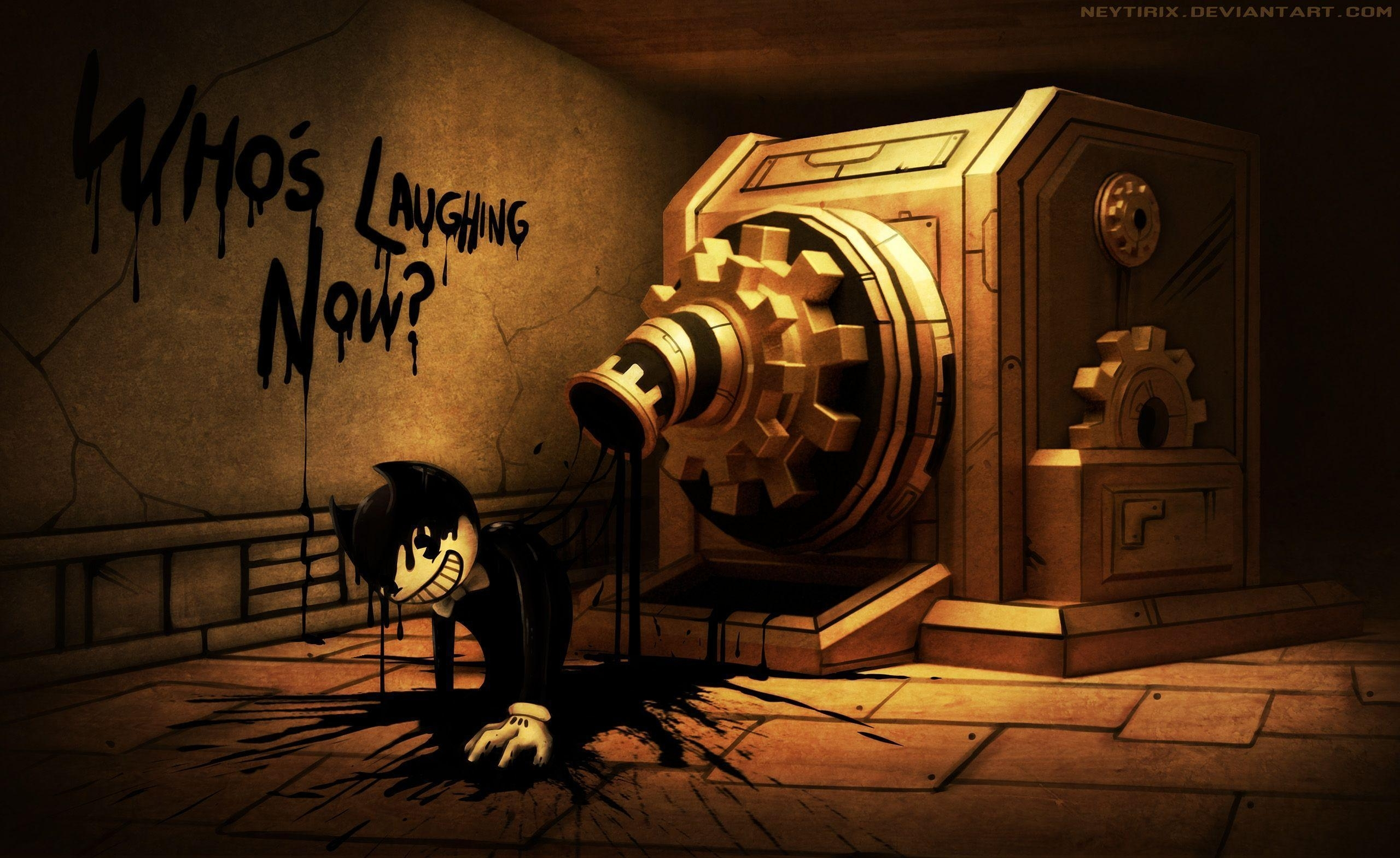 bendy and the ink machine wallpapers - wallpaper cave