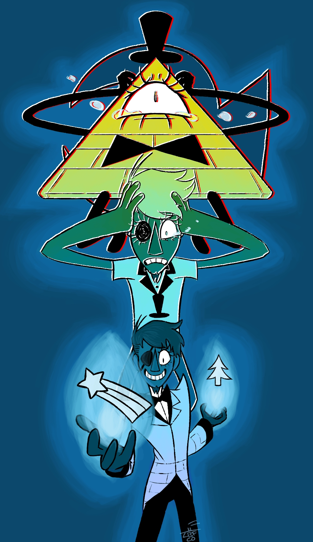 Title Bill Cipher Wallpapers Wallpaper Cave Dimension 1000 X 1731 File