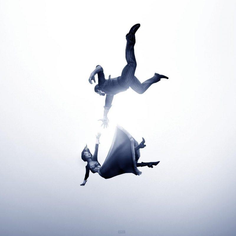 10 Best Bioshock Infinite Wallpaper Falling FULL HD 1920×1080 For PC Background 2018 free download bioshock infinite booker dewitt elizabeth comstock falling wallpaper 800x800